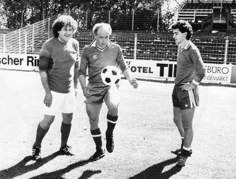 Cuneo Fussball – Bruno Franco und Alessandro
