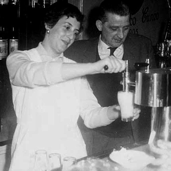 Mafalda Cuneo und Angelo Basso